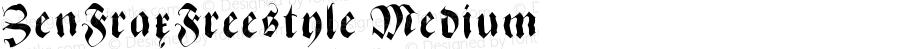 ZenFraxFreestyle Medium Version 1.0 2003-07-04