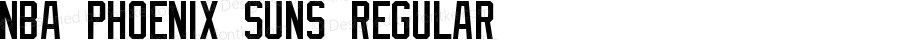 NBA Phoenix Suns Regular Version 1.00 August 27, 2013, initial release