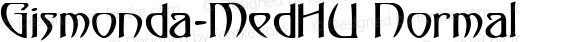 Gismonda-MedHU Normal 1.000