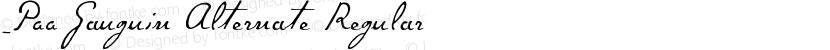 _P22 Gauguin Alternate Regular Preview Image