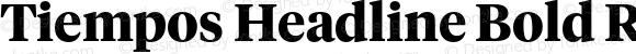 Tiempos Headline Bold Regular Version 1.001;PS 1.000;hotconv 1.0.57;makeotf.lib2.0.21895