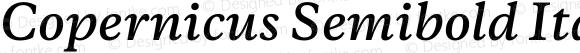 Copernicus Semibold Italic