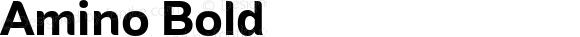 Amino Bold Version 2.01 : 2013;com.myfonts.cadson-demak.amino.bold.wfkit2.41JK