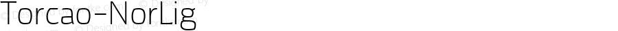 Torcao-NorLig ☞ Version 1.000;com.myfonts.insigne.torcao.normal-light.wfkit2.44Ey