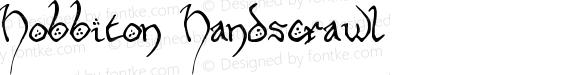 Hobbiton Handscrawl Regular