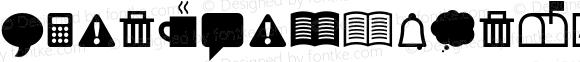 ClickBits-Icons1 ? Version 1.000;PS 001.000;hotconv 1.0.38;com.myfonts.fonthead.click-bits.icons-1.wfkit2.2ANZ