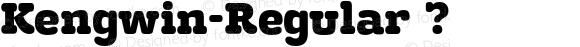 Kengwin-Regular ?