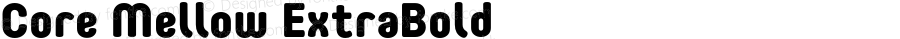 CoreMellow-ExtraBold