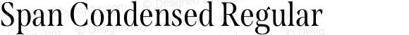 Span Condensed Regular