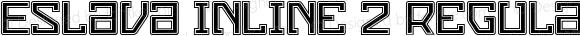 Eslava Inline 2 Regular