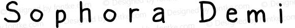 Sophora Demi-Bold