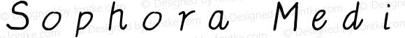 Sophora Medium-Italic