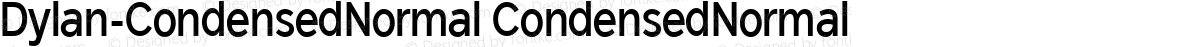 Dylan-CondensedNormal CondensedNormal