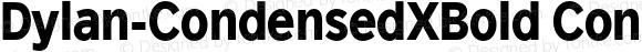 Dylan-CondensedXBold CondensedXBold