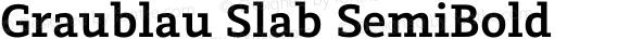 Graublau Slab SemiBold