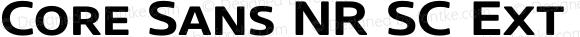 Core Sans NR SC Ext Bld 63 Ext Bold
