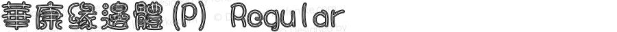 華康緣邊體(P) Regular Version 3.00