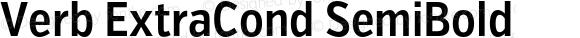 Verb ExtraCond SemiBold