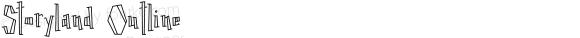 Storyland Outline Version 1.000;PS 001.000;hotconv 1.0.70;makeotf.lib2.5.58329