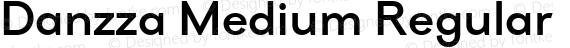Danzza Medium Regular preview image