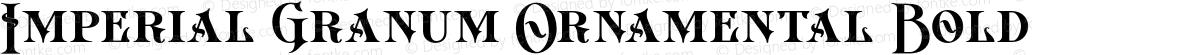 Imperial Granum Ornamental Bold