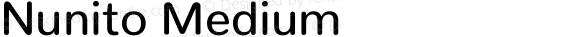 Nunito Medium