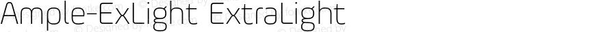 Ample-ExLight ExtraLight 001.001