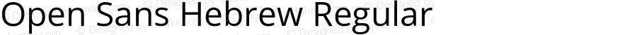 Open Sans Hebrew Regular Version 2.001;PS 002.001;hotconv 1.0.70;makeotf.lib2.5.58329