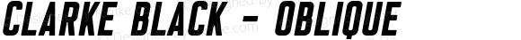 Clarke Black - Oblique