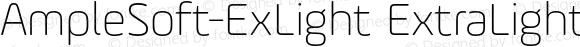 AmpleSoft-ExLight ExtraLight 001.001