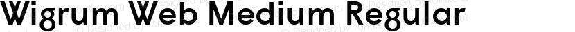 Wigrum Web Medium Regular Preview Image
