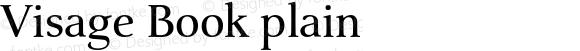 Visage Book plain
