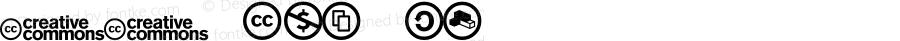 CC Icons Regular Version 0.9.0