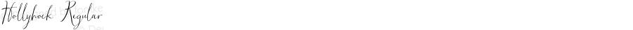 Hollyhock Regular Version 1.001;PS 001.001;hotconv 1.0.70;makeotf.lib2.5.58329