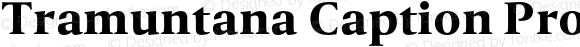 Tramuntana Caption Pro Heavy