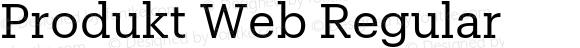 Produkt Web Regular