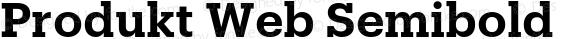Produkt Web Semibold