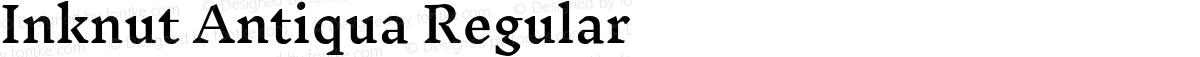Inknut Antiqua Regular