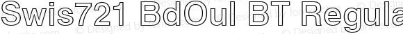 Swis721 BdOul BT Regular Version 1.01 emb4-OT;com.myfonts.easy.bitstream.swiss-721.bold-outline.wfkit2.version.2fro