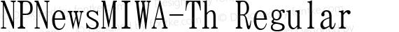NPNewsMIWA-Th Regular preview image