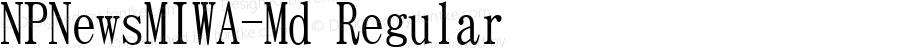 NPNewsMIWA-Md Regular Version 004.20 2003/08/30