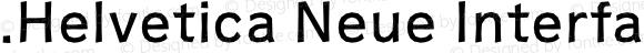 .Helvetica Neue Interface Heavy