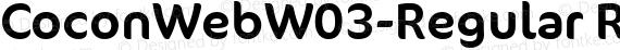 CoconWebW03-Regular Regular preview image
