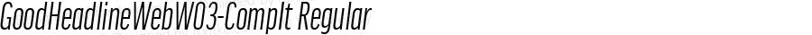 GoodHeadlineWebW03-CompIt Regular Version 7.504