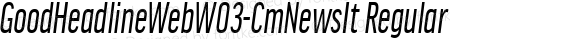 GoodHeadlineWebW03-CmNewsIt Regular Version 7.504