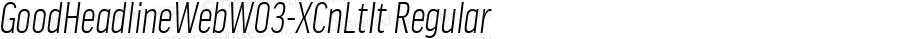 GoodHeadlineWebW03-XCnLtIt Regular Version 7.504