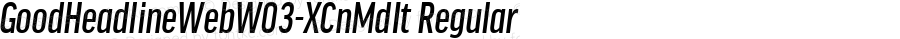 GoodHeadlineWebW03-XCnMdIt Regular Version 7.504