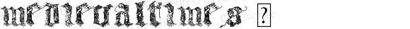 MedievalTimes ☞ Version 1.000; ttfautohint (v0.95) -d;com.myfonts.easy.celebrity.medieval-times.regular.wfkit2.version.3Uji