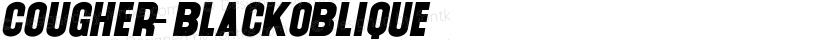 Cougher-BlackOblique ☞ Preview Image