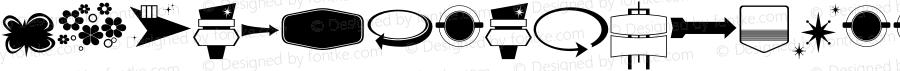 LHFRetroRickyDoohickies ☞ (1.0);com.myfonts.easy.letterheadfonts.lhf-retro-ricky-doohickies.regular.wfkit2.version.4muK